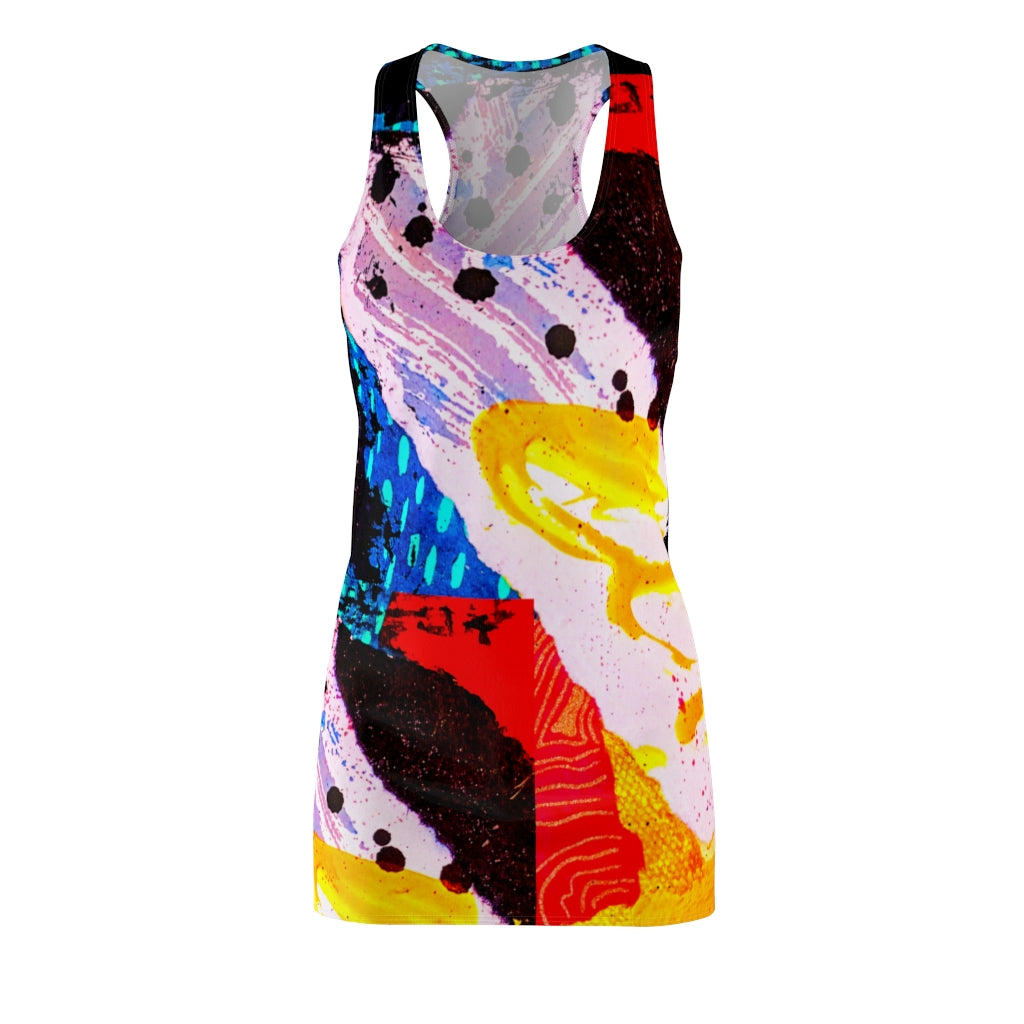 Fresh Start Women's Cut & Sew Racerback Dress