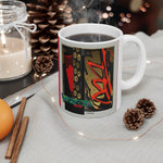 Abstract Holiday Mug 11oz