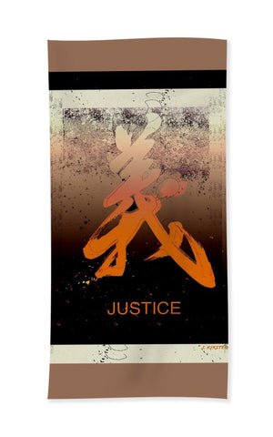 Justice Beach and Bath Towel