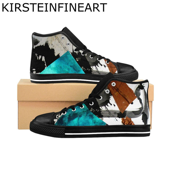 Evening Sensation Women's High-top Sneakers Designed by Janis Kirstein