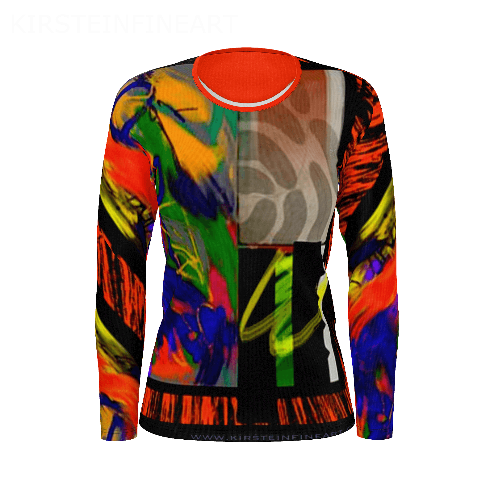 JUNGLE JAM Long Sleeve T-shirt - Kirsteinfineart