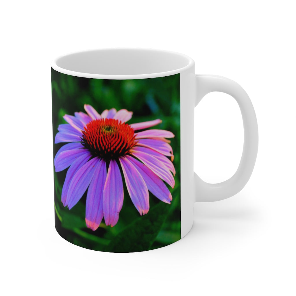 I AM HEALING Coneflower Ceramic Mug 11oz.