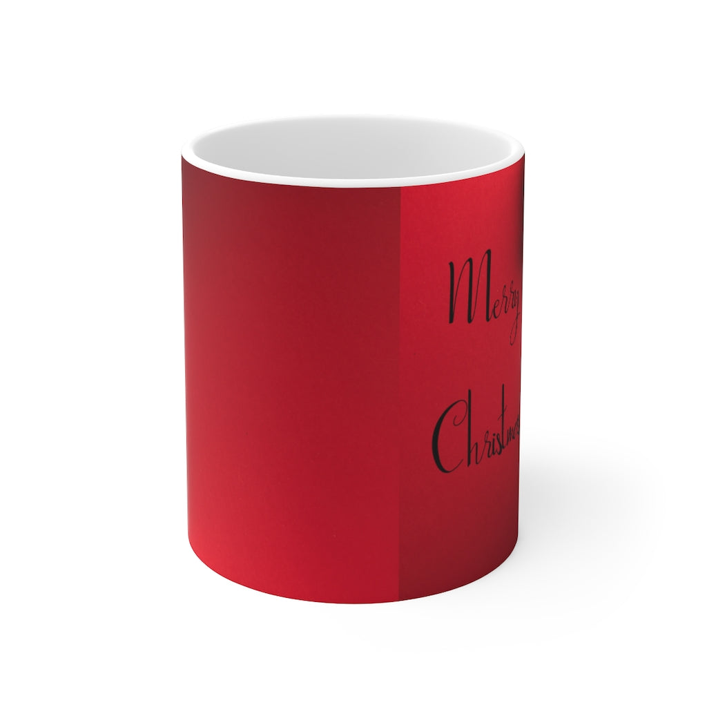 Merry Christmas Mug 11oz HOLIDAY SPECIAL ITEM