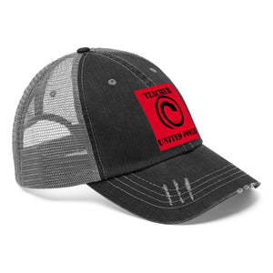 Teacher Power United Trucker Hat - Kirsteinfineart