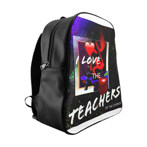 I Love the Teachers School Backpack - Kirsteinfineart