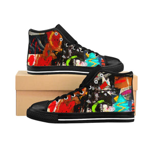 Shaman's Dream Women's High-top Sneakers - Kirsteinfineart