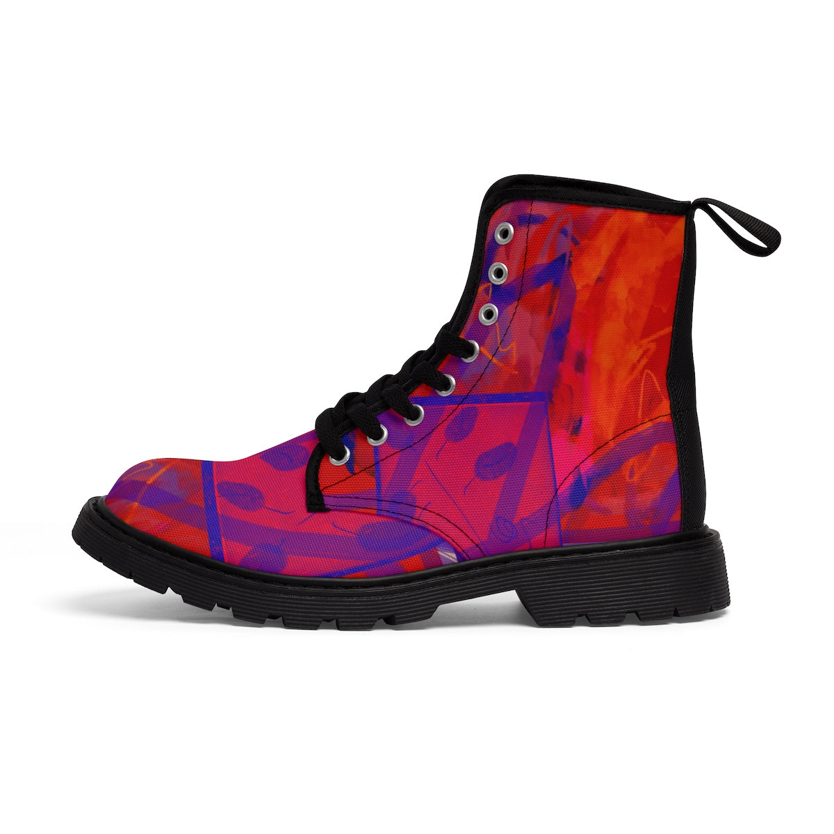 Joy Women's Canvas Boots - Kirsteinfineart