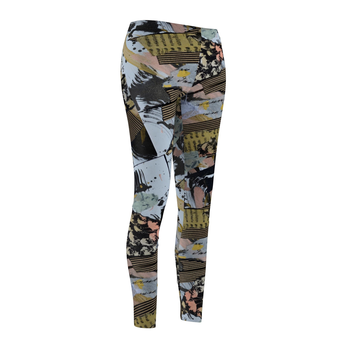 Musical Women's Cut & Sew Casual Leggings - Kirsteinfineart