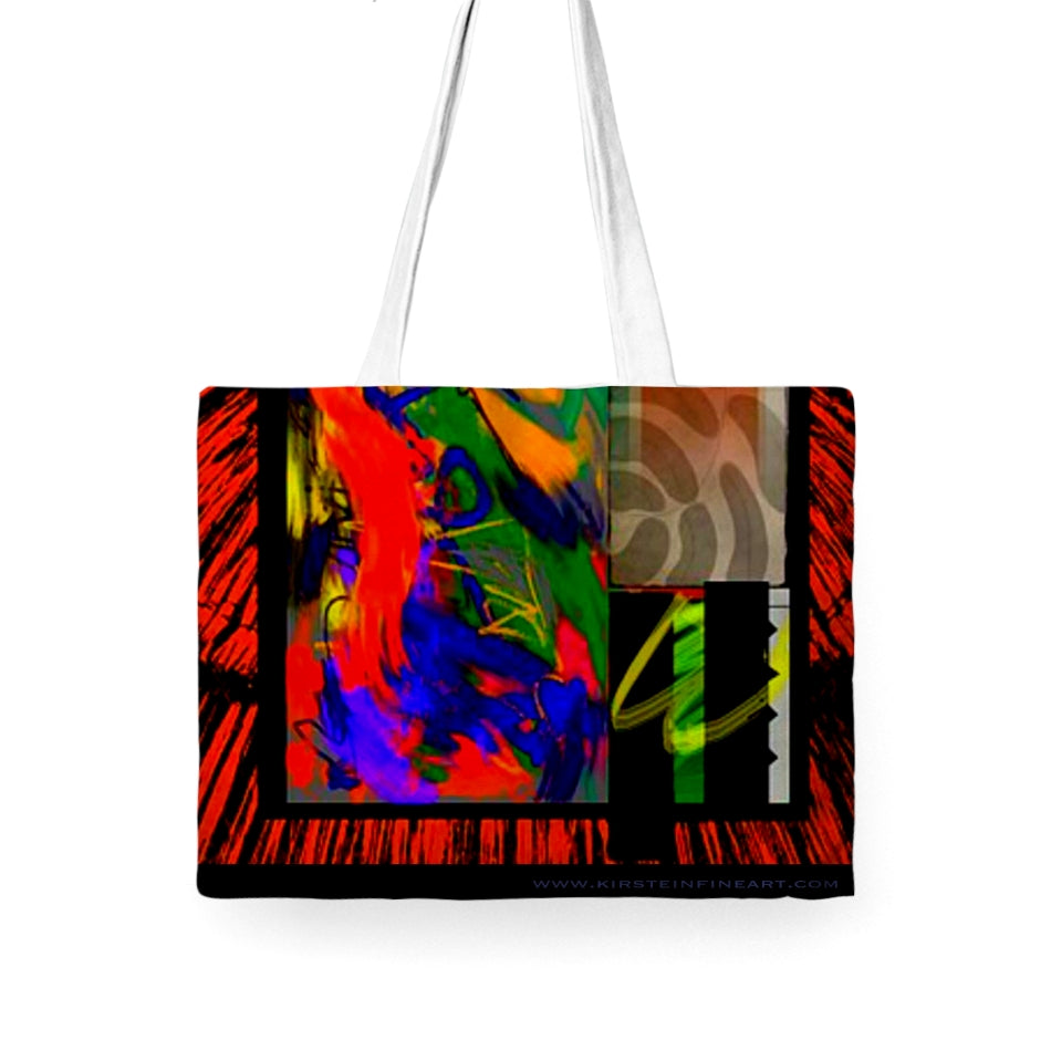 Jungle Jam Tote Bag - Kirsteinfineart