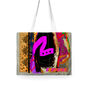 Hot To Trot Tote Bag Wide - Kirsteinfineart