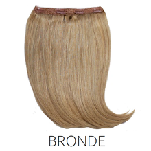 #12 Bronde light brown one piece clip in hair