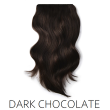 #2 dark chocolate brown one piece clip in hair