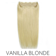 #613 blonde One Piece clip in hair