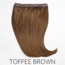 #12 toffee light brown one piece clip in hair