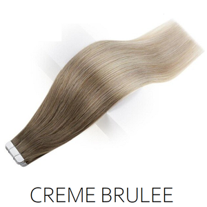 ash blonde ombre balayage tape hair extensions