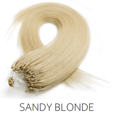 #22 blonde  Easy Loop Micro Bead Hair Extensions