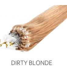 #27 Dirty Blonde  Easy Loop Micro Bead Hair Extensions