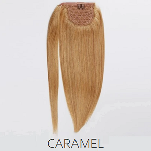 #16 Blonde Caramel Human Hair Ponytail
