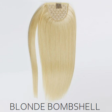 #60 Blonde Human Hair Ponytail