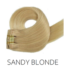 #22 Sandy Blonde Clip in Human Hair Extensions