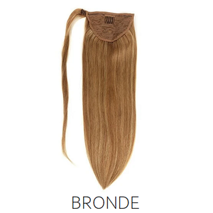 #12 Bronde Light Brown Synthetic Ponytail