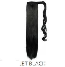 #1 Jet Black Synthetic Ponytail