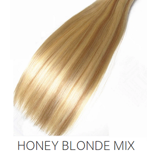 #27/613 Blonde Foiled Highlight Mix Synthetic Ponytail