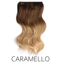 #2/4-22 Caramello Ombre Balayage Clip in Human Hair Extensions