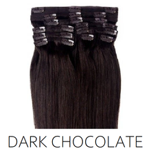 #2 Dark Chocolate Clip in Human Hair Extensions