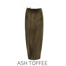 #8A Light Ash Toffee Brown Halo Hair Extensions