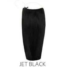 #1 Jet Black Halo Hair Extensions
