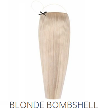 #60 Blonde Halo Hair Extensions