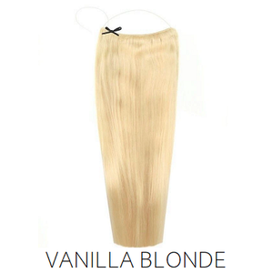 #613 Blonde Halo Hair Extensions