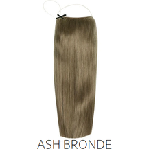 #8A Ash Bronde Light Brown Halo Hair Extensions