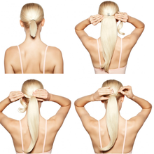 How to ponytail extension