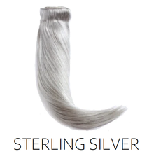 Sterling Silver Clip in Human Hair Extensions