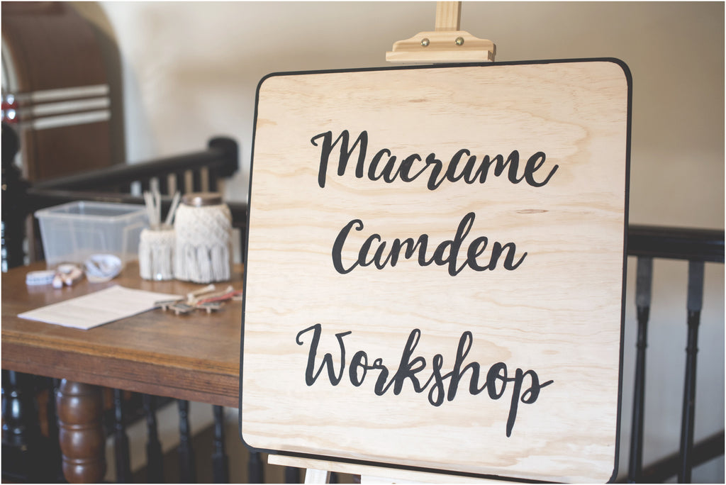Macrame Camden Workshop - July