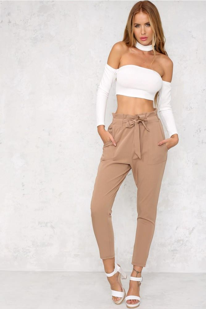 Chelsea Pants - Brown