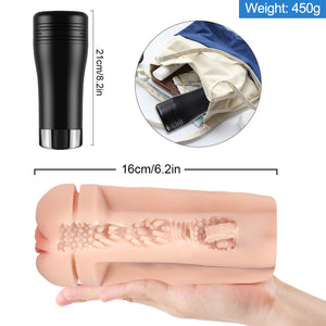 2-In-1 Male Masturbation Cup