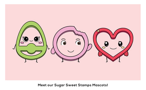 Sugar Sweet Stamps Mascots