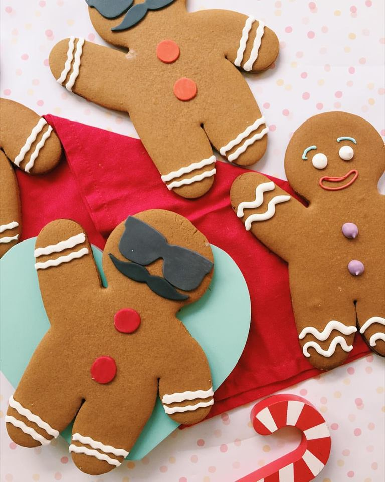 Hipster Gingerbread Man - Sugar Rush by Steph