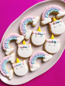 Rainbow Unicorns - Sugar Rush by Steph
