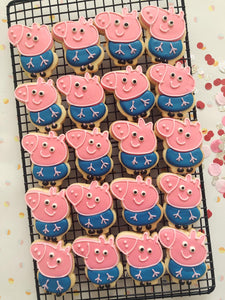 George Pig Cookies - Sugar Rush by Steph