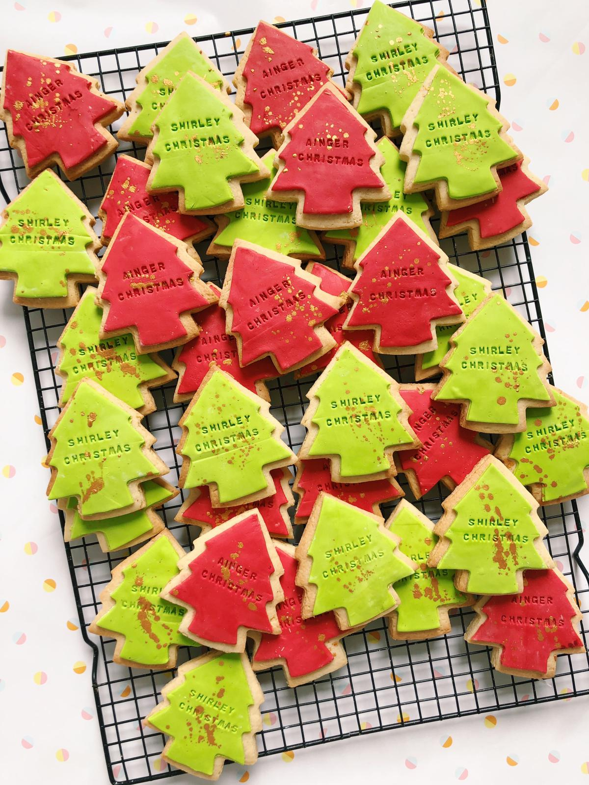 Jolly Christmas Trees - Sugar Rush by Steph