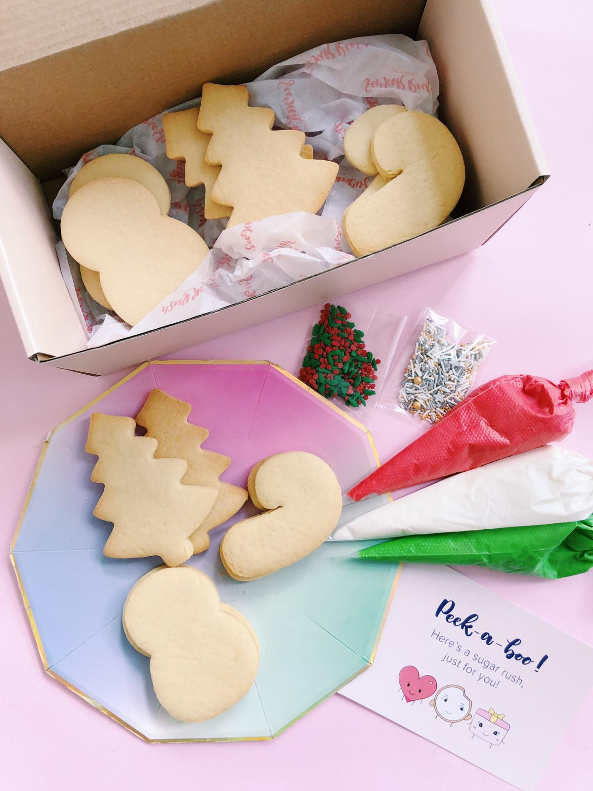 Winter Wonderland DIY Cookie Kit