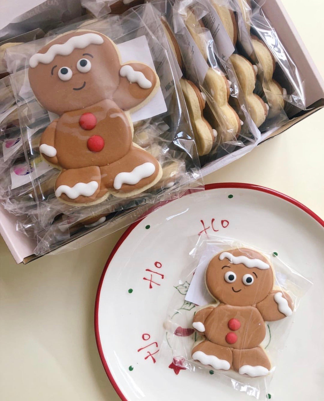 Here comes the Gingerbread Man! - Sugar Rush by Steph