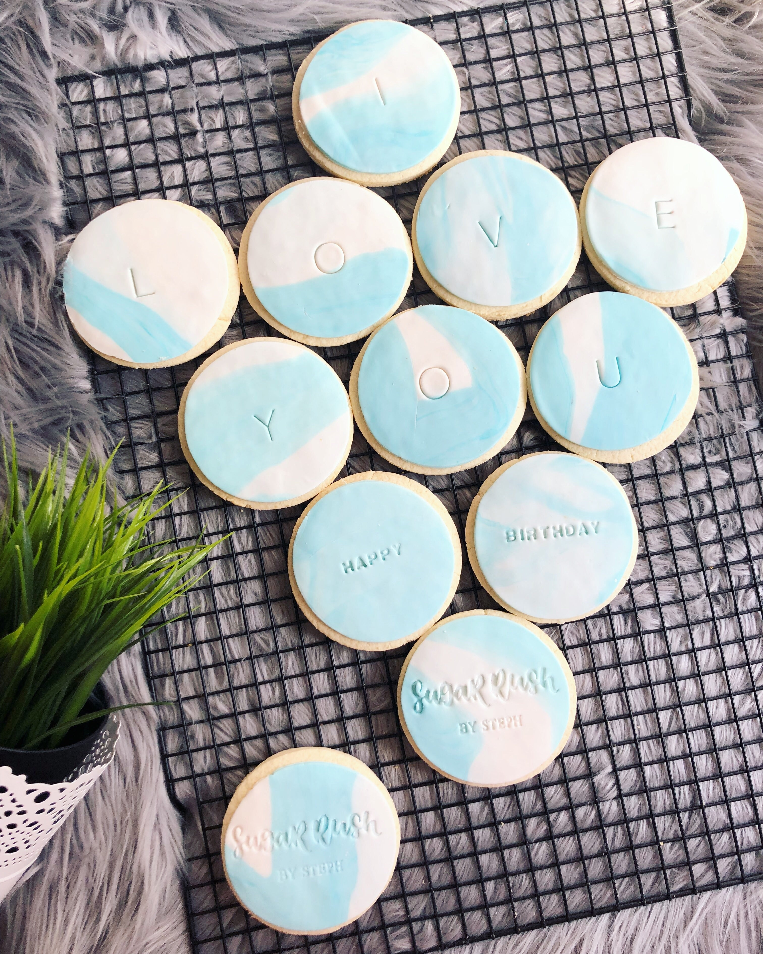 Gluten-Free | Personalised cookies - Sugar Rush by Steph