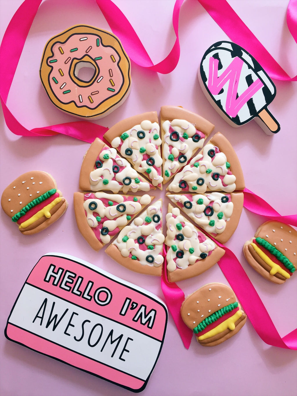 Do You Wanna Pizza Me? Cookies - Sugar Rush by Steph