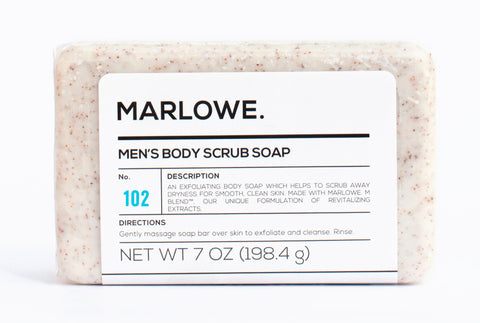 Marlowe Men's Body Scrub Soap