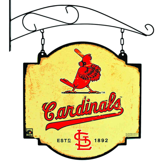 MLB, St. Louis Cardinals, Metal Tavern Signs, Sign, Officially licensed sign, St. Louis Cardinals gift
